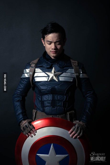 Great Captain America cosplay by Osric Chau