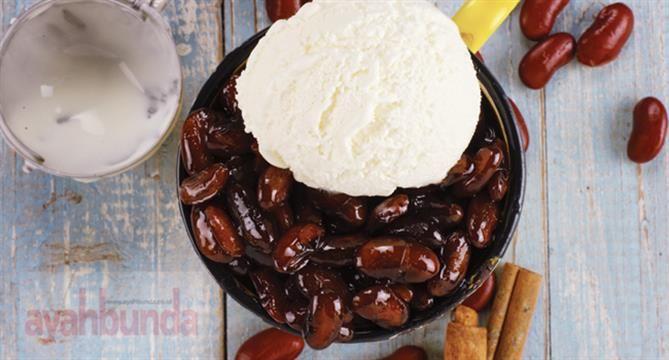 Es Kacang Merah Vanila :: Red Bean with Vanilla Ice Cream :: Klik link di atas untuk mengetahui resep es kacang merah vanila