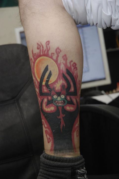 1000 images about anime and amazing tattoos on pinterest for Aku aku tattoo