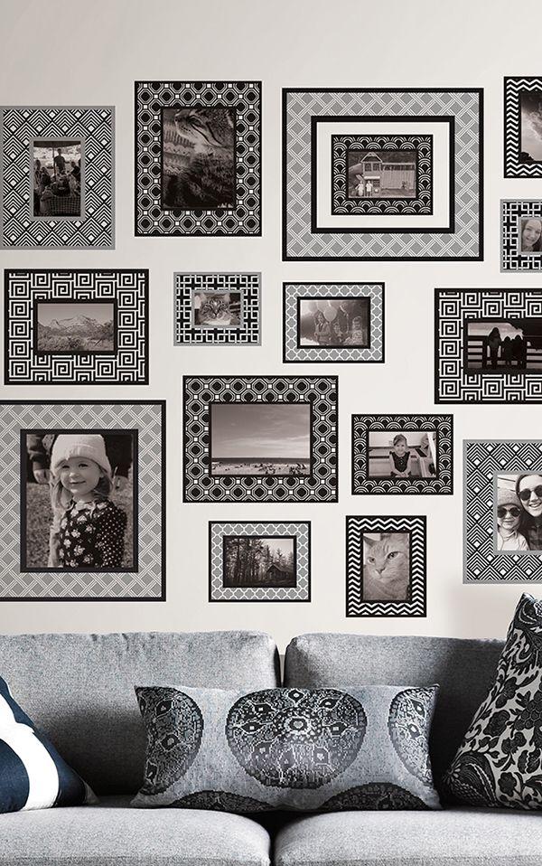 Die besten 25+ Wall Pops Wandsticker Ideen auf Pinterest Pop-Art - wandtattoo braune wand