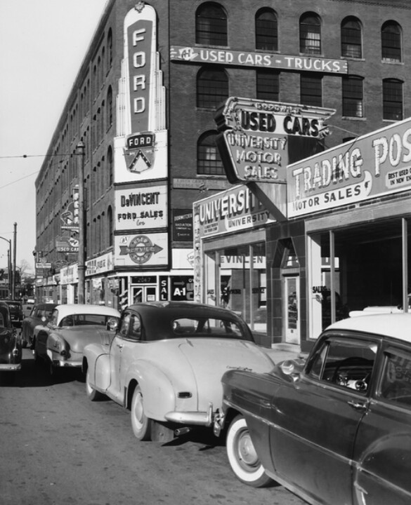 17 Best Images About Car Dealerships From PAST On