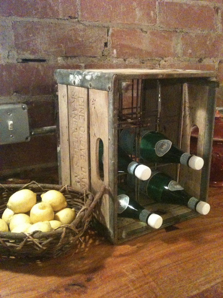 1000 images about milk crate on pinterest milk crates for Decorating with milk crates