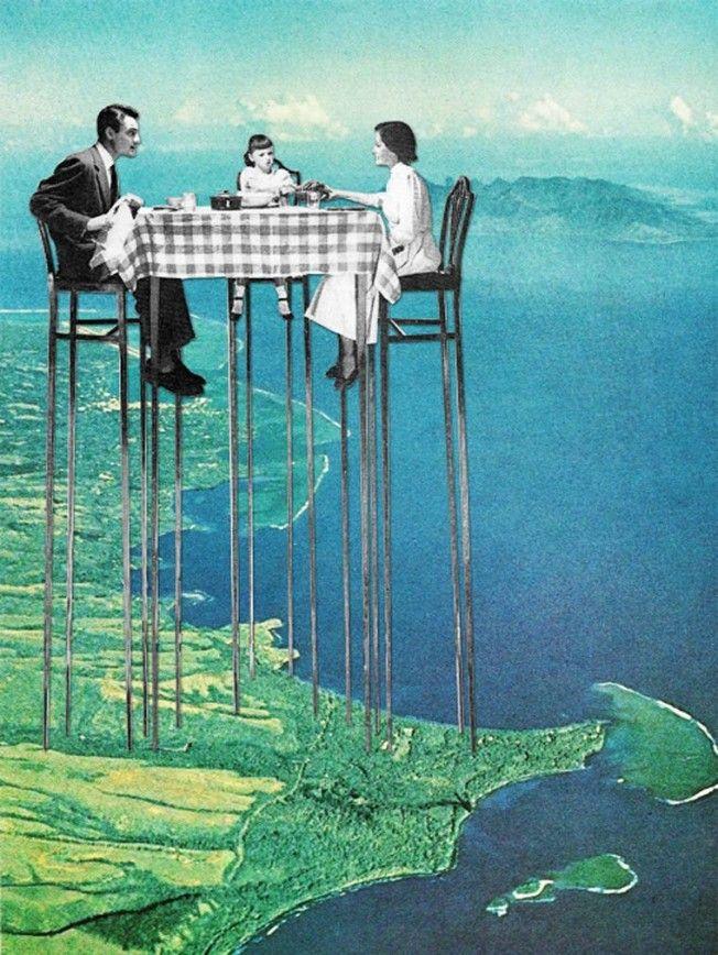 Surrealismo em colagem
