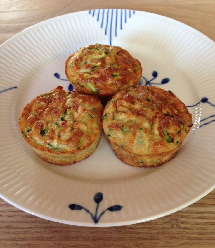 Glutenfrie squashmuffins til madpakken