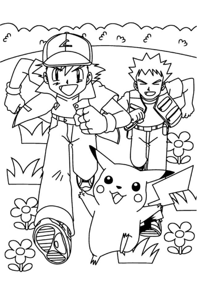 Coloriage Magique Pikachu Pokémon Pinterest Pokemon Coloring