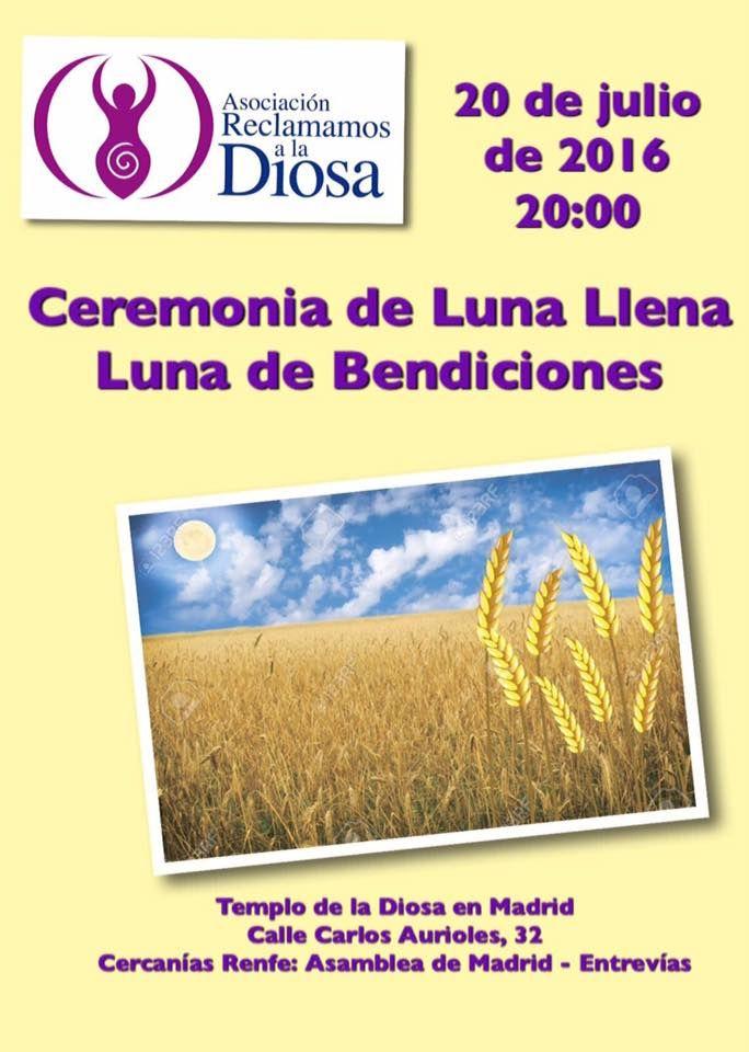 Ceremonia de Luna Llena | Luna de Bendiciones Julio 2016