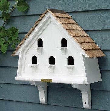 Lazy Hill Farm Designs Flat Bird House - farmhouse - Birdhouses - Good Directions Inc