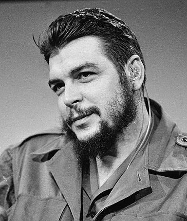 Ernesto Guevara de la serna ( Che Guevara ) the doctor born in Argentina who became a symbol of revolution , justice and freedom not just in...