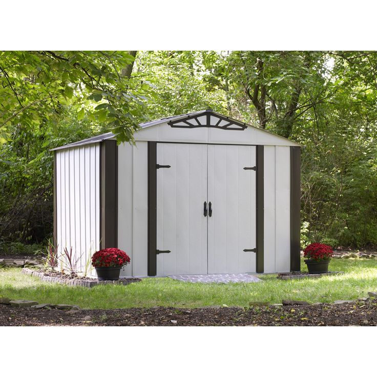 Arrow 10' x 8' Designer Metal Storage Shed