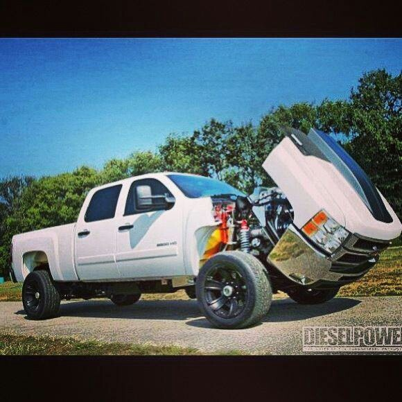 Chevy Diesel Blower: Duramax With Twin Turbos Into A Supercharger