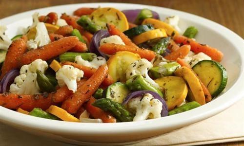 Mazola Receta - Verduras rostizadas en olla de cocción lenta