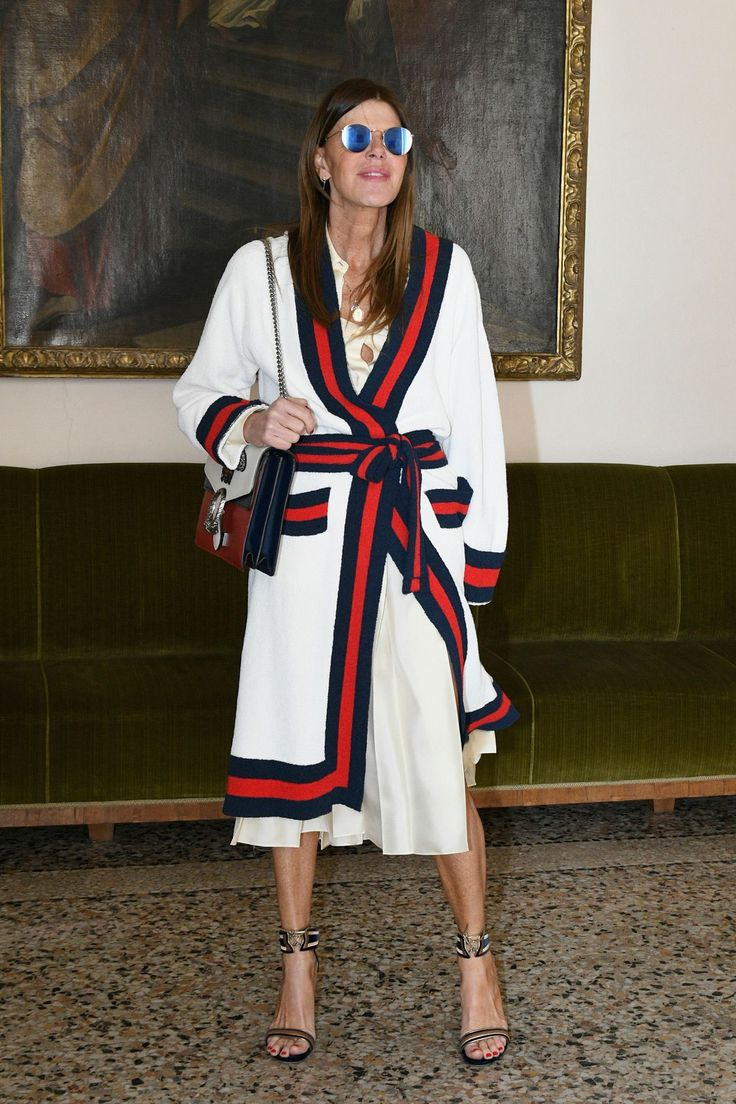 Anna Dello Russo - The Bottega Veneta show - 25 February 2017