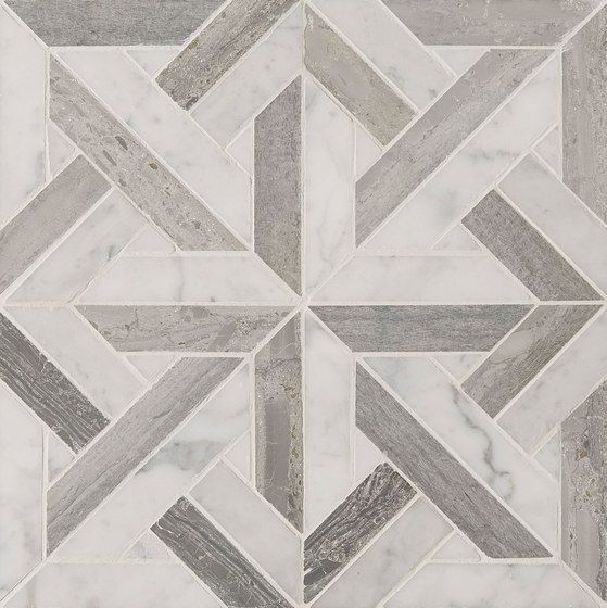 Art Deco Parquet by Claybrook Interiors Ltd  Natural