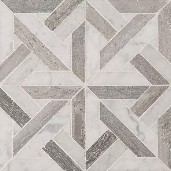 Art Deco Parquet by Claybrook Interiors Ltd. | Natural stone wall tiles