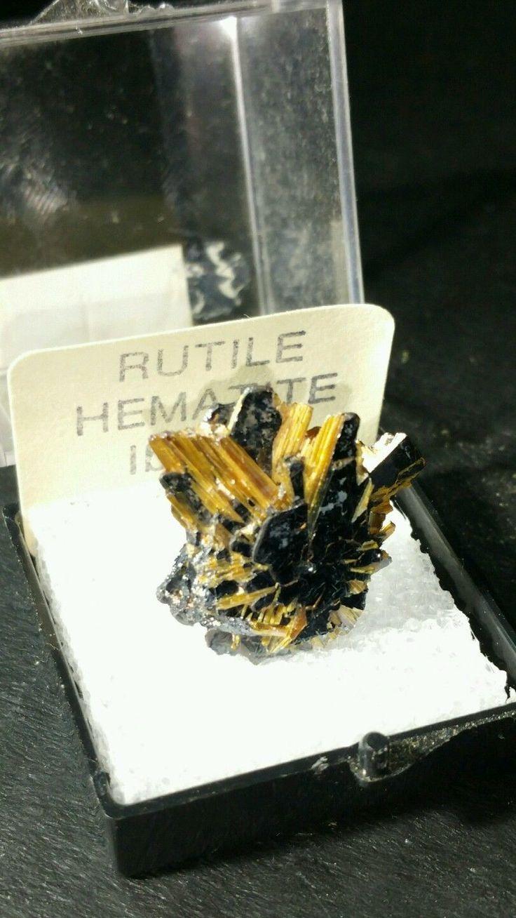 Golden Star Rutile and Hematite, Ibitiara, Bahia, Brazil | eBay