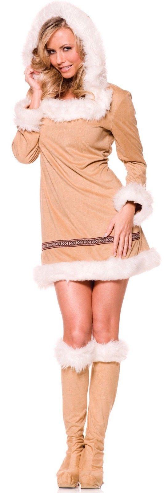 Halloween Pageant Wear Womens Sexy Eskimo Costume Winter Halloween Adult Dress #halloween #costume #dress www.loveitsomuch.com