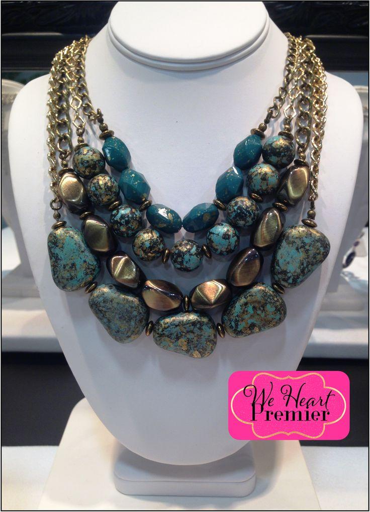 Rock It Necklace! #Pdstyle
