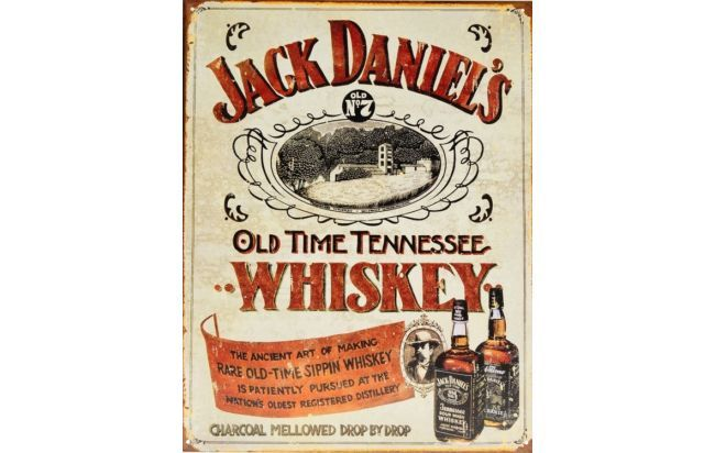 Carteles Antiguos en http://www.alamaula.com/q/cartel+antiguo/S1G1 #Vintage #Decoracion #Nostalgia #Marcas #Carteles #Frases #Slogans #Antiguedades #Curiosidades #JackDaniels #Whiskey