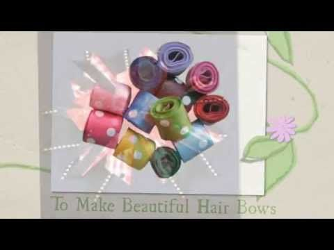 Hair Bow Supplies To Make Your Own Hair Bows #rrrhairbowvideos