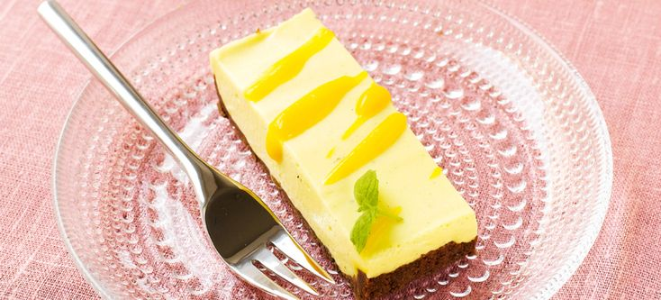 Dominomainen mango-juustokakku - Fazer