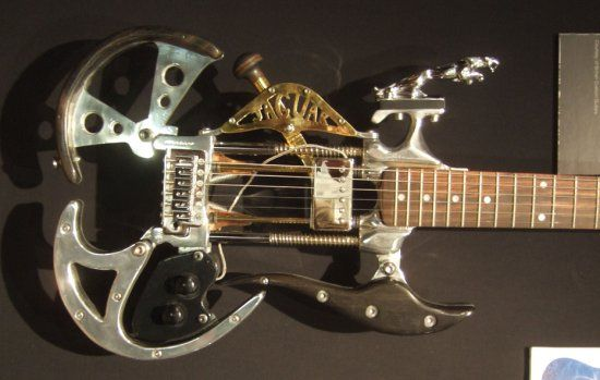 guitar or steering wheel?