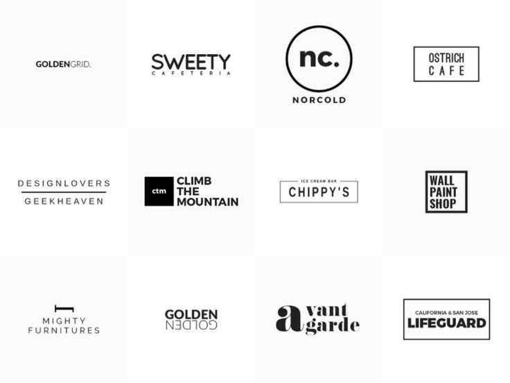 25 Minimal Logo Templates