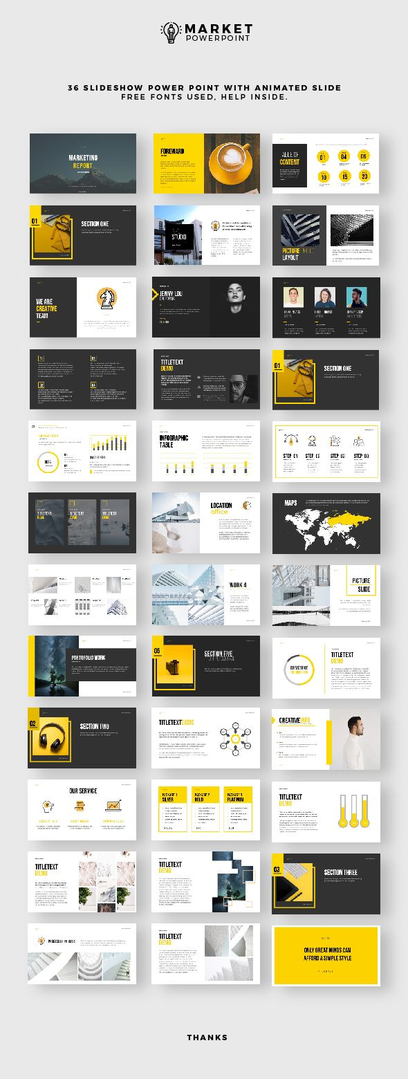 Simple Presentation – PowerPoint Templates Presentation Templates