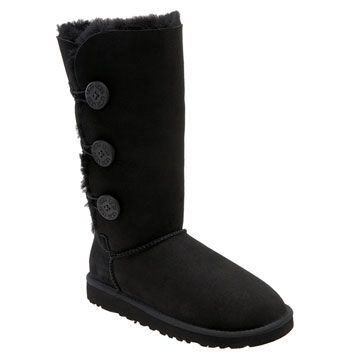 Free shipping and returns on UGG® 'Bailey Button Triplet' Boot (Women) at Nordstrom.com. A favorite tall boot is fitted with three wooden buttons for an easily cuffed option. The soft, cozy lining is made from genuine shearling with a plush UGGpure™ footbed to keep feet warm and comfortable. UGGpure™ is a moisture-wicking textile made entirely from wool but crafted to feel and wear like genuine shearling.