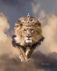 Lion Painting - Lion Of Judah - The King Of Kings by Dale Kunkel Art