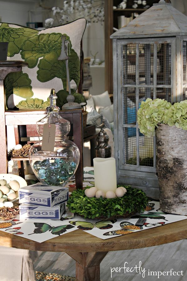 Perfectly Imperfect… Probably the most BEAUTIFUL store that I've ever been in…