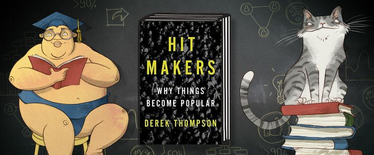 Do you ever wonder why certain content and ideas become very popular while others fail to gain traction? Derek Thompson's new book 'Hit Makers: How Things Become Popular' takes an in-depth look at what makes a viral or popular product. … Continued