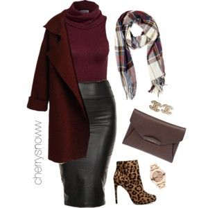 Classy sassy chic fall outfit: