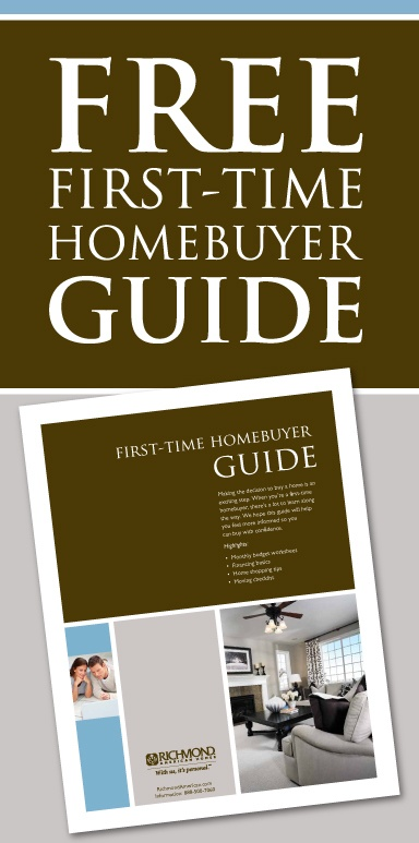 First-time Homebuyer Guide – RichmondAmerican.com