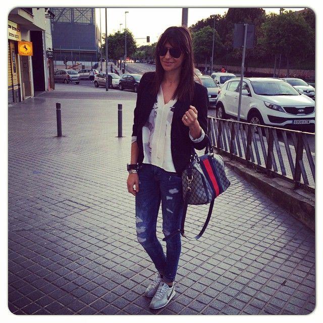 Cambio de look , vuelvo a llevar flequillo #Córdoba #maroc #marocco #casablanca #nike #gucci #zara