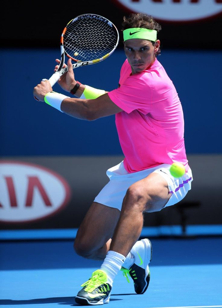 Rafa absolutely smashed Sela last night at Rod Lava. Wasn't the greatest match to go to :P