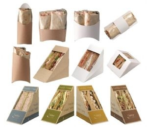 Sandwich /Wrap packaging
