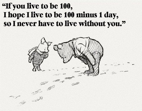 So sweet...made me smile: Precious Friendship, Pooh Quotes, Best Friends, Favorite Quote, Aweeee 3, True Friendships, Awww Pooh, Awwwww 3