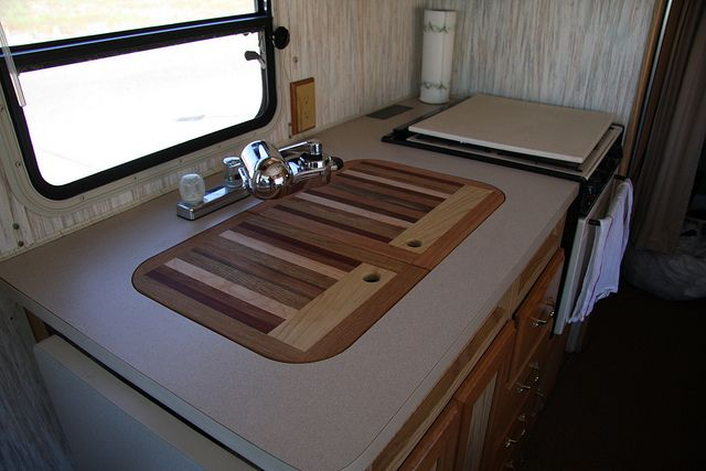 rv sink covers | red hat jef: jef's sink cover cutting boards | rv