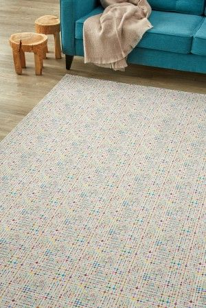 Hundreds and thousands: Sprinkled with a multitude of fine brightly coloured dots, this design embraces ...