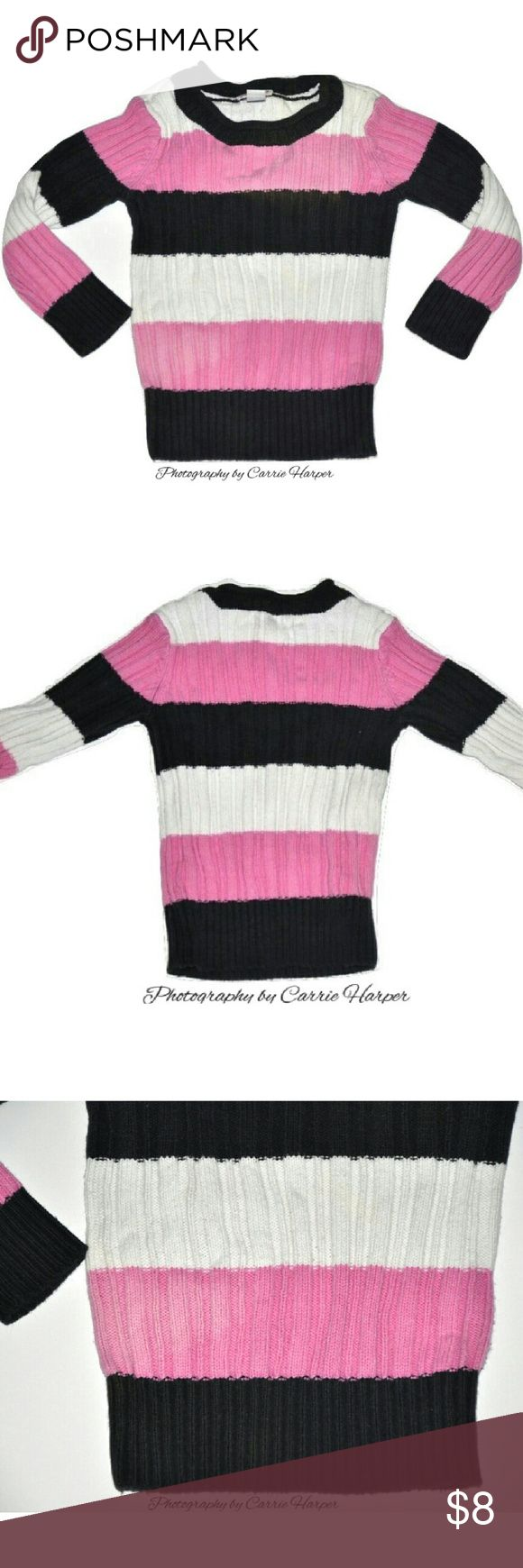 Toddler Girls Sweater Size 3T By Place 89  63% Cotton  37% Acrylic  Slight Wash wear  Good Used condition  When I receive my items they are immediately washed (if applicable) in Tide Free and Clear, Downy with no scent/unscented dryer sheets as well. I know a lot of people are sensitive to fragrance (myself included). Smoke free, dog friendly home Price is firm Shirts & Tops Sweaters