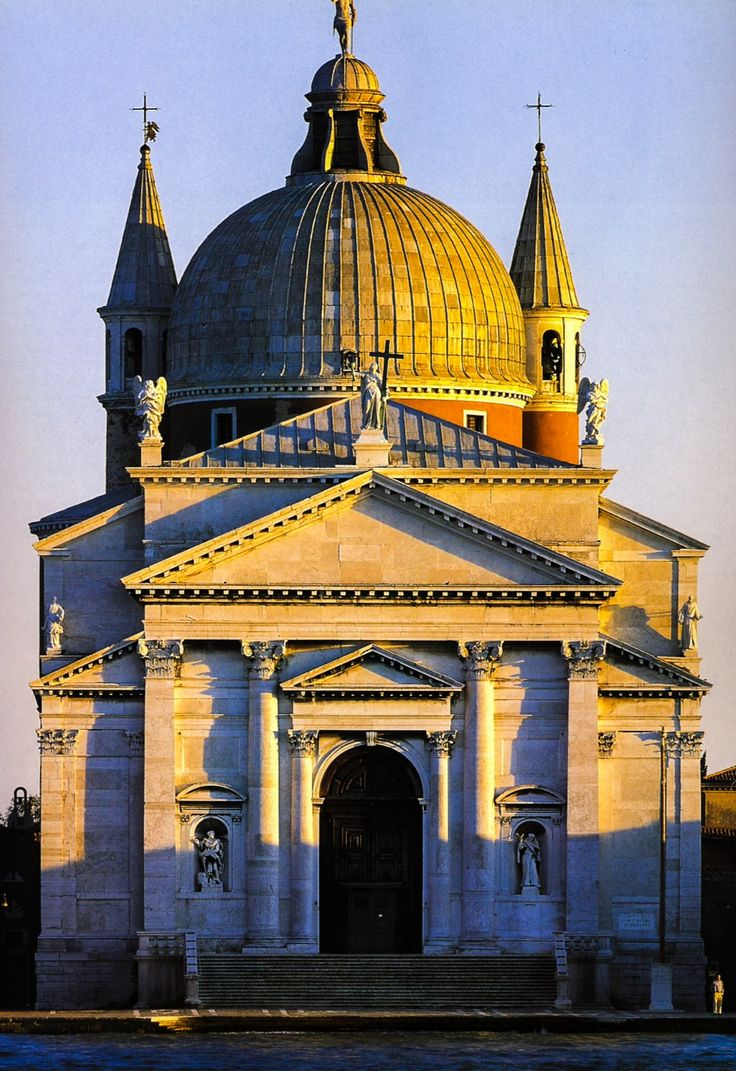 Joseph Abhar- An influential master piece in the world of architecture design !! Palladio. Il Redontore. 1577-1592