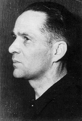 The first commandant of Concentration Camp Auschwitz was SS-Obersturnbannfuhrer Rudolf Höss, from 4 May 1940 to 10 November 1943.  Auschwitz Concentration Camp Chain of Command   http://www.HolocaustResearchProject.org