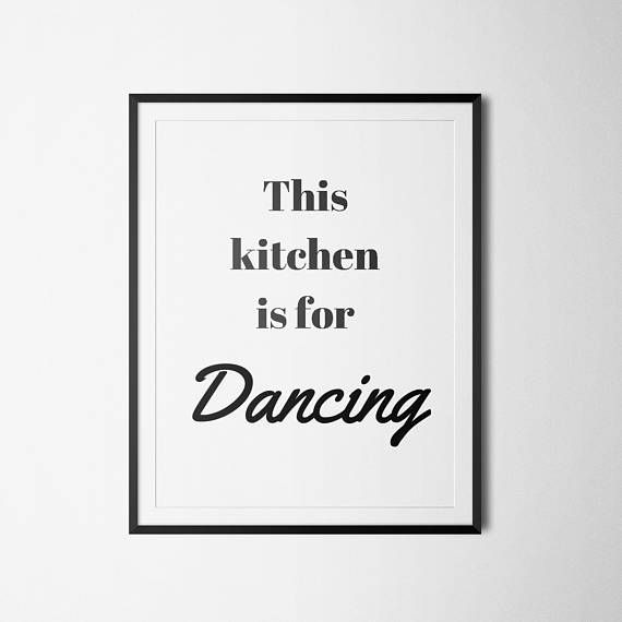Kitchen Wall Art   Printable Art This Kitchen Is For