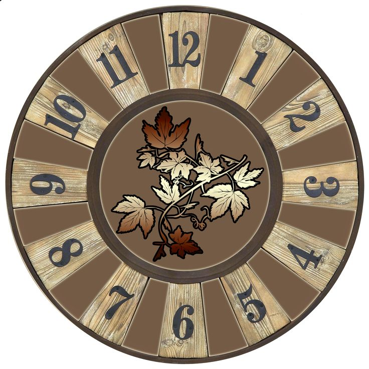 Clock Faces Vintage Watches Wall Clocks Decoupage