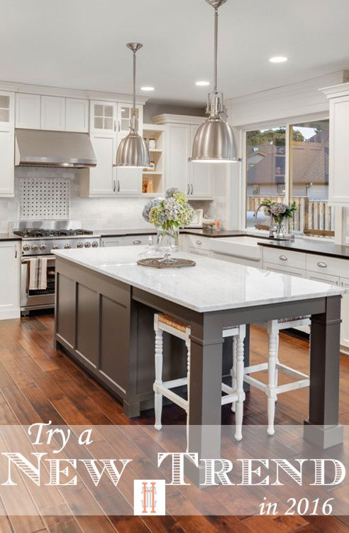 Best Try A New Interior Design Trend In 2016 Kitchen Trends 400 x 300