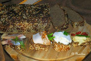 #lchf Безгютеновый низкоуглеводный белковый хлеб