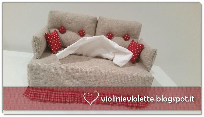 sewing idea for kleenex sofa ♥