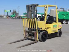 """2004 Hyster H50XM 5000 lbs Warehouse / Industrial Fork Lift Truck LP 189"""" Mastforklift financing apply now www.bncfin.com/apply"""