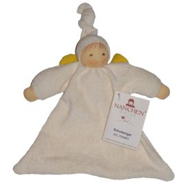 Nanchen Guardian Angel Doll. Made from certified organic cotton and wool. Perfect first doll for baby!Nanchen Guardian, Cotton, Angels Waldorf, Mommy'S House, Accompaniments Baby, Certified Organic, Angels Dolls, Baby Toys, Guardian Angels