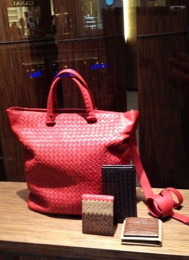 shopping window Bottega Veneta Mall of the Emirates in Dubai